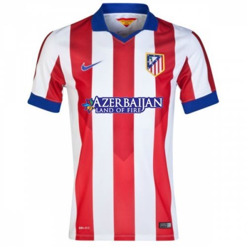 Футбольная футболка для детей Atletico Madrid Домашняя 2014/15 лонгслив (рост 152 см)
