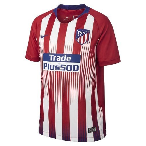 Футбольная футболка для детей Atletico Madrid Домашняя 2018/19 лонгслив (рост 140 см)
